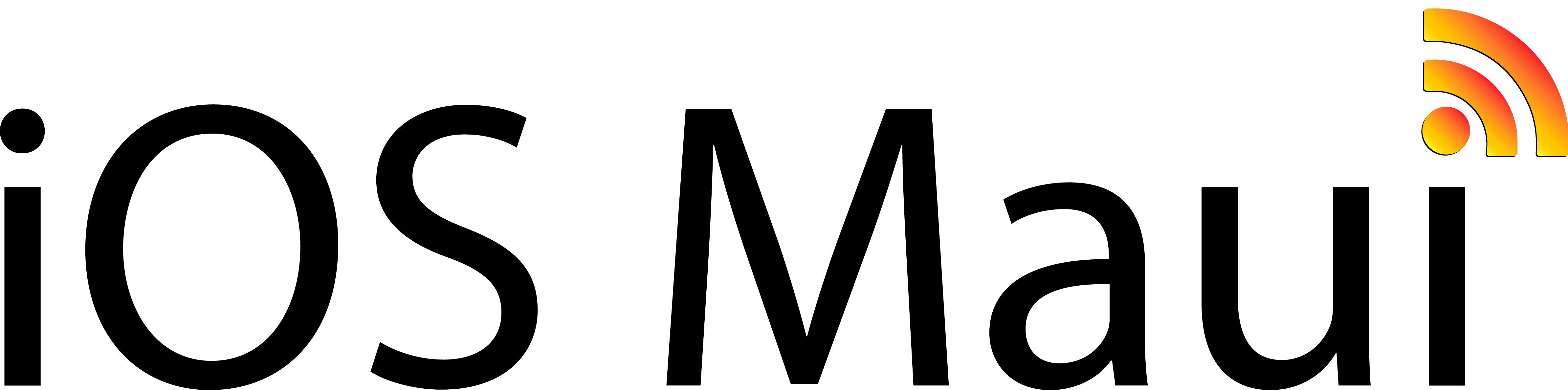 iOS Maui Logo